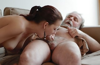 Ilona and her stud are sharing a fine time when he invites his old buddy over